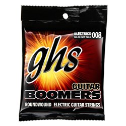 GHS Boomers GBUL 6-String Roundwound Electric Guitar Strings - Extra Light (8-38)