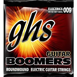 GHS Boomers GBXL 6-String Roundwound Electric Guitar Strings - Extra Light (9-42)