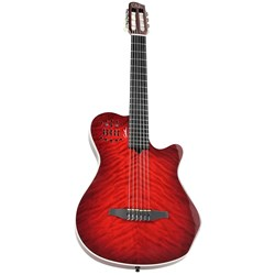 Godin Multiac ACS Grand Concert Quilted Maple (Trans Red) HG