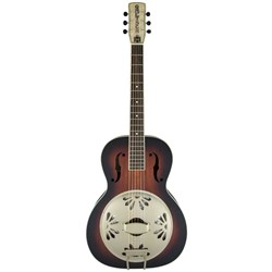 Gretsch G9241 Alligator Biscuit Round-Neck Acoustic / Electric Resonator (2 SB)
