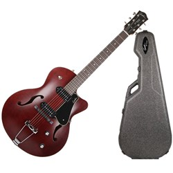 Godin 5th Avenue CW Kingpin II (Burgundy, 033560) & Case