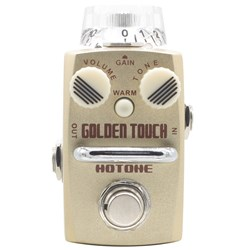 Hotone Golden Touch Overdrive Stompbox
