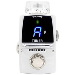 Hotone Tuner Tiny Guitar Tuning Pedal w/ LED Display