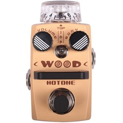Hotone Wood Acoustic Guitar Simulator Pedal