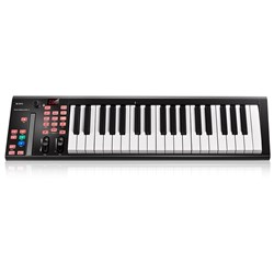 ICON iKeyboard 4X 37-Key Velocity-Sensitive Piano-Style Keyboard Controller (Black)