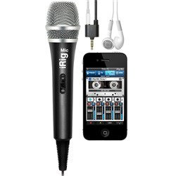 IK Multimedia iRig Mic Handheld Mic for iPhone & iPad
