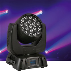 Infinity iW1915 Pro Moving Head LED RGBW Wash w/ Zoom (19 x 15W RGBW)
