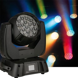 Infinity iW1915 Pixel Pro LED Moving Head RGBW Wash w/ Zoom (19 x 15W RGBW)