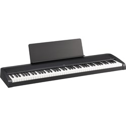 Korg B2 Digital Piano (Black) Natural Weighted Hammer Action 88-Keys