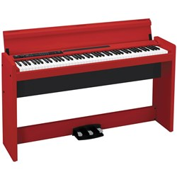 Korg LP380 Digital Piano - Weighted Digital Piano (Red)