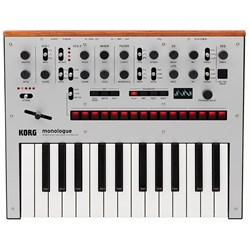 Korg Monologue Monophonic Analogue Synthesizer (Silver)