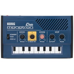 Korg Monotron Duo Analogue Synthesizer w/ Dual Oscillator