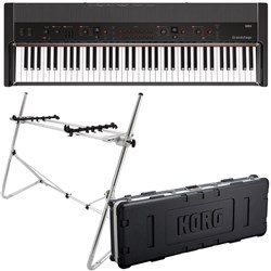 Korg Grandstage 73-Key Stage Piano w/ FREE Hard Case & Keybard Stand