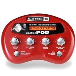 Line 6 POCKETPOD Mini Battery-Powered Pod w/ USB