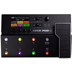 Line 6 POD Go Compact Multi-Effects Floor Processor Pedal