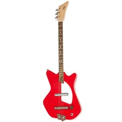 Loog LGE02 Electric 3-String Kids Electric Guitar - 18 Frets (Red)