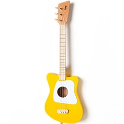 Loog LGMI Mini 3-String Kids Acoustic Guitar - 15 Frets (Yellow)