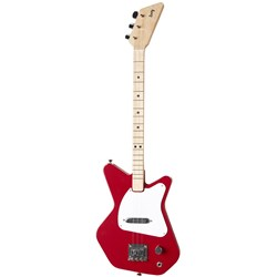 Loog Pro Electric 3-String Electric Guitar (Red)