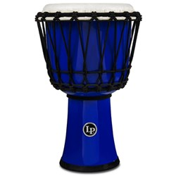 "LP 7"" Rope Tuned Circle Djembe with Perfect-Pitch Head (Blue)"