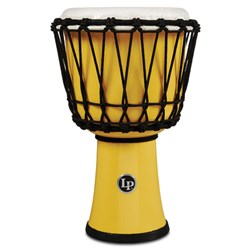 "LP 7"" Rope Tuned Circle Djembe with Perfect-Pitch Head (Yellow)"