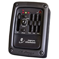 LR Baggs Stagepro Element Side-Mounted Preamp/EQ for Acoustic Guitar
