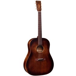 Martin DSS-15M StreetMaster Slope Shoulder Acoustic Guitar w/ Gig Bag (Mahogany Burst)