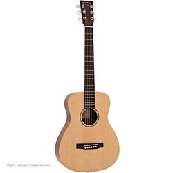 Martin LX1E Left-Hand Little Martin Acoustic Guitar w/ Pickup inc Gig Bag