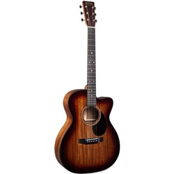 Martin OMC-16E BURST Acoustic Guitar w/ Pickup in Soft Case (Mahogany Burst)