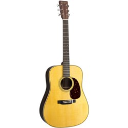 Martin HD-28E Acoustic Guitar w/ Fishman Aura VT Enhance Pickup in Hardshell Case