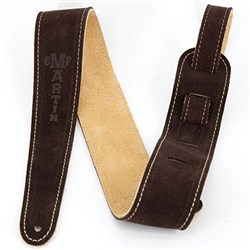 Martin Strap Suede Brown