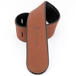 Martin Premium Rolled Leather Strap Brown