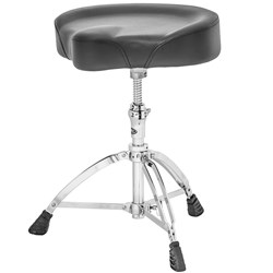 "Mapex T755A Saddle Top Double Braced Drum Throne w/ Vinyl Covering (17"" x 4"")"