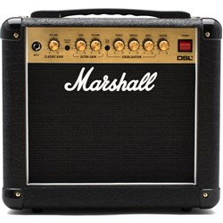 "Marshall DSL1C Dual Super Lead 2-Channel 1w 1x8"" Valve Guitar Combo Amp"
