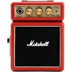 Marshall MS-2R Mini Amp Red