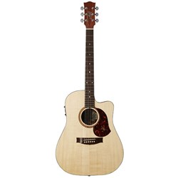 Maton SRS70C-LH Dreadnought Acoustic Guitar Left-Hand w/ Cutaway & AP5 Pro w/ Case
