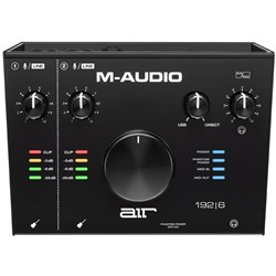 M-Audio Air 192x6 2-In/2-Out 24/192 USB Audio/MIDI Interface