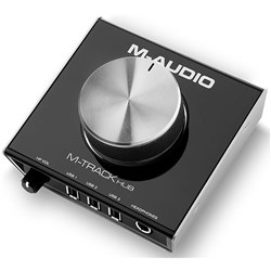 M-Audio M-Track Hub USB Monitoring Interface