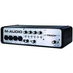 M-Audio M-Track Quad 4-Channel USB Interface w/ PT Express
