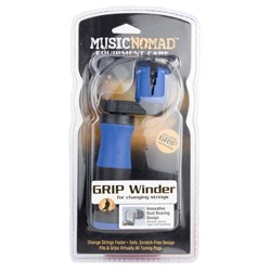 Music Nomad Grip Winder - Rubber Lined, Dual Bearing Peg Winder