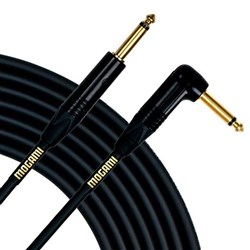 Mogami Gold Instrument Cable Right-Angled TS - TS (10ft)