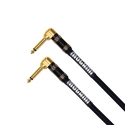 Mogami Platinum Right-Angle to Right-Angle Guitar Cable (1.5ft)