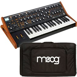 Moog Subsequent 37 Analogue Synthesizer w/ Moog Gig Bag