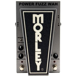 Morley PFW2 20/20 Power Fuzz Wah Guitar Effects Pedal