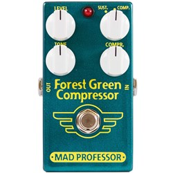 Mad Professor Amplification Forest Green Compressor Pedal for Guitar & Bass