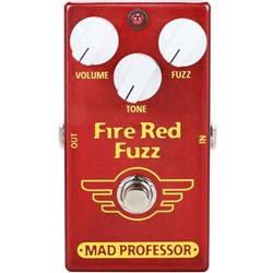 Mad Professor Amplification Fire Red Fuzz Pedal