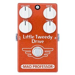 Mad Professor Amplification Little Tweedy Drive Pedal w/ small Tweed Amp Tone