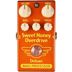 Mad Professor Amplification Sweet Honey Overdrive Deluxe - Low Gain Overdrive Pedal