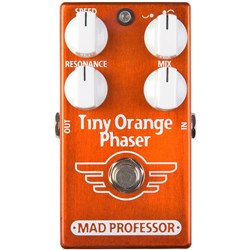 Mad Professor Amplification Tiny Orange Phaser Pedal - tuned for electric guitar