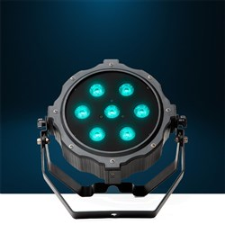 MarQ Gamut PAR H7 Low-Profile LED Wash Light w/ 6-in-1 7x10W RGBAW/UV High-Power LEDs