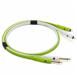 "Oyaide Neo D+ Stereo 1/4"" TS to RCA Class-B Cable (1m)"